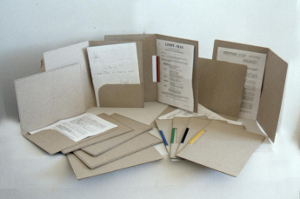 Dossier cartón reciclado