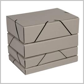 Cajas de proyectos y portadocumentos cartón reciclado
