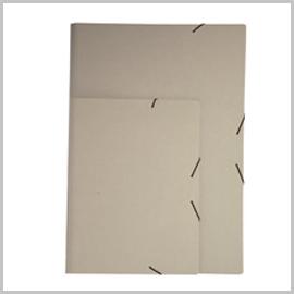 Carpetas gomas cartón reciclado