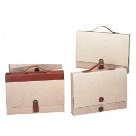 Maletines cartón reciclado